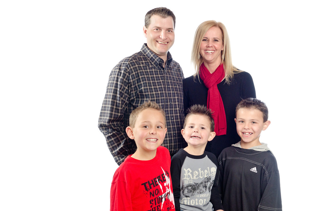 High-Key Studio Portraits of the JS Burk Family by EyeMotion Photography 1